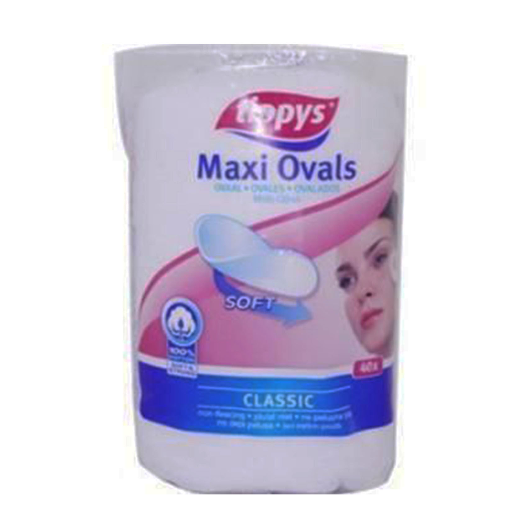 TIPPYS MAXI SQUARE PADS 40