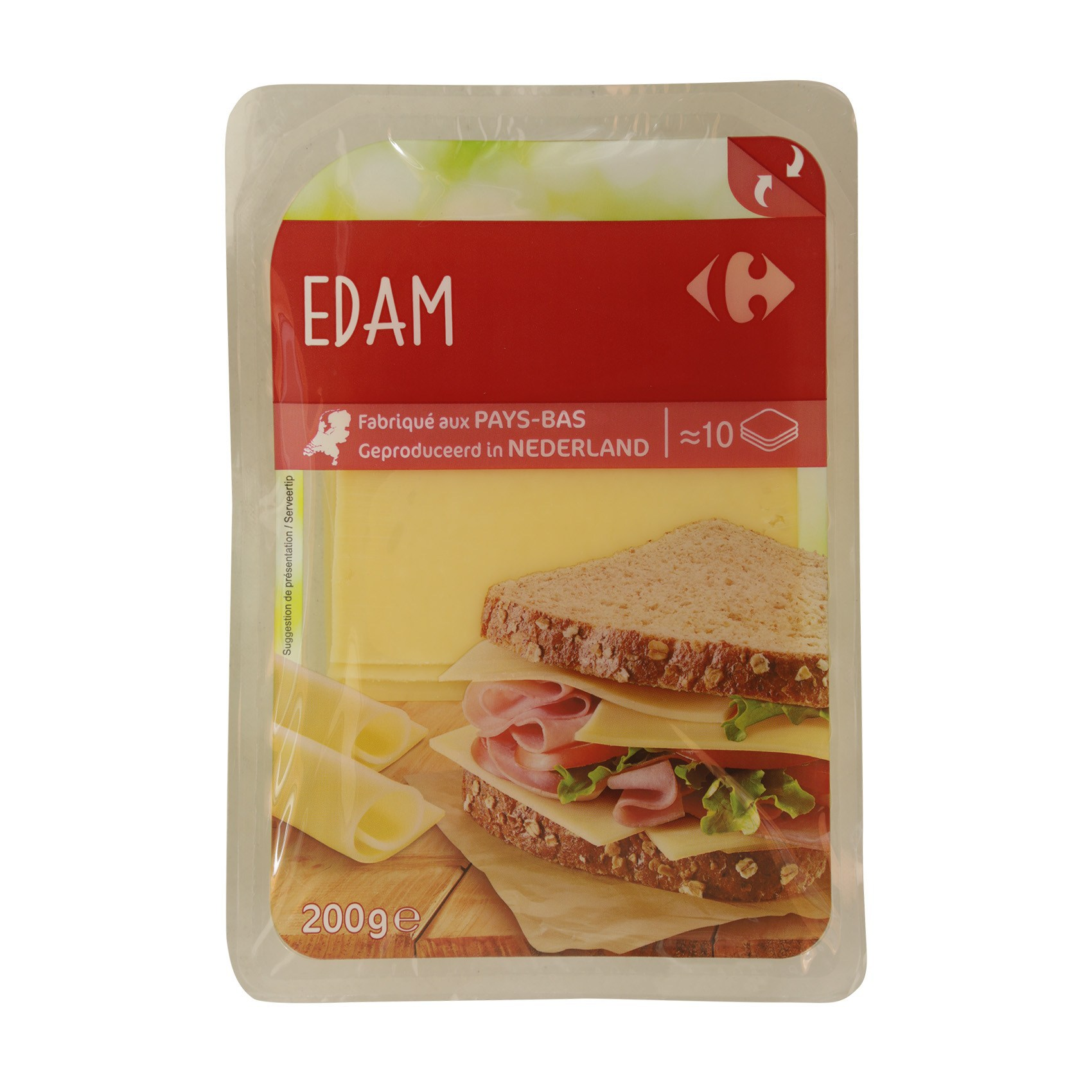 CRF EDAM SLICES 200G
