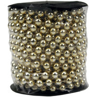 Christmas Bead Garland 10M Gold