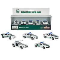 Majorette Dubai Police Die-Cast 5 Pack - Assorted
