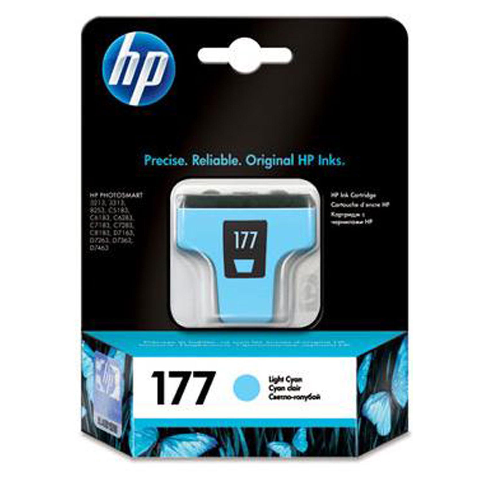 HP CART 177 LIGHT CYAN