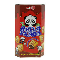 Meji Hello Panda Fun Filled Biscuits Treats 50g