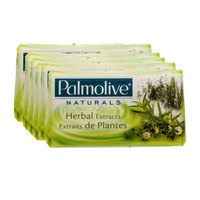 Palmolive Natural Soap Herbal Extracts 175g x6