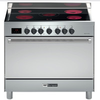 Bompani 90X60 Cm Ceramic Cooker BO683DX