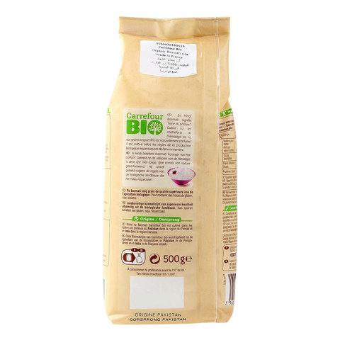 Carrefour-Bio-Organic-Basmati-Rice-500g