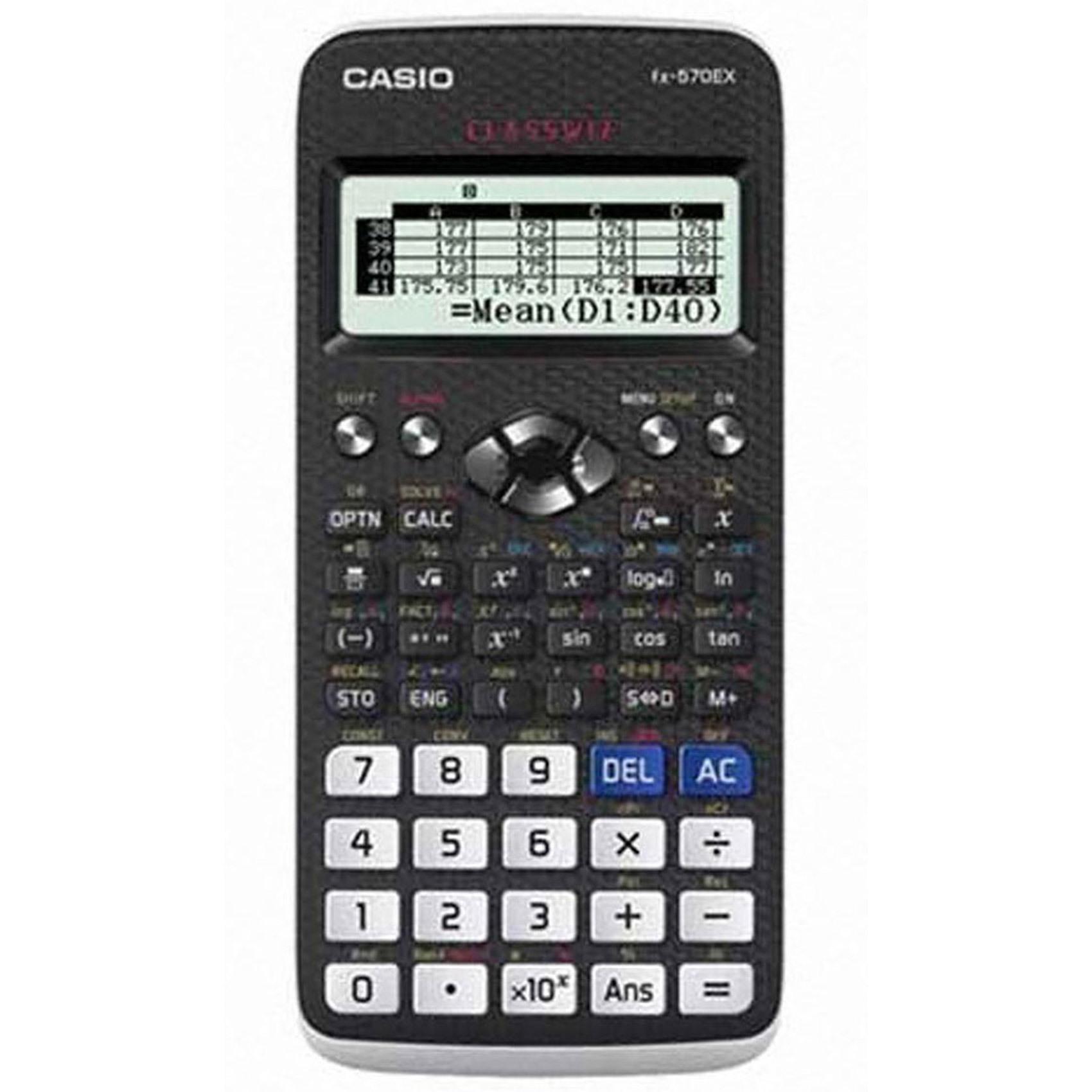 CASIO FX-570EX CLASSWIZ SCIENTIFIC