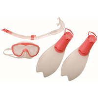 Speedo Glide Junior Scuba Set/Pink33-36