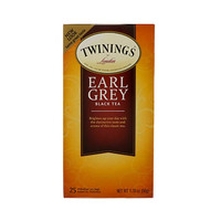 Twinings Tea Black Earl Grey 25 Sachets 12 Count
