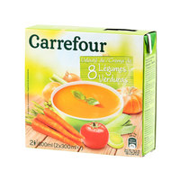 Carrefour Vegetable Soup 300ml x2