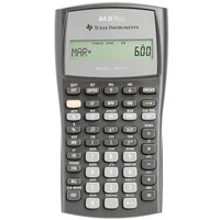 Texas Instruments Financial Calculator Ba II Plus