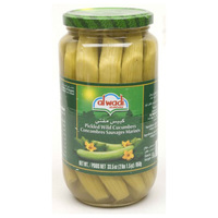 Al Wadi Pickled Cucumbers 950g
