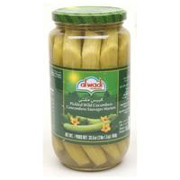 Al Wadi Pickled Cucumbers 950g