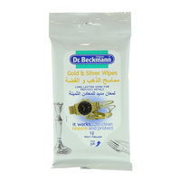 Dr. Beckman Gold & Silver 12 Wipes