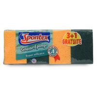 Spontex Super Efficient 4 Sponges