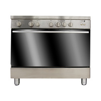 FAGOR Gas Cooker 5CF985GXBUT 90X60 Cm With Fan Full Safety Stainless Steel