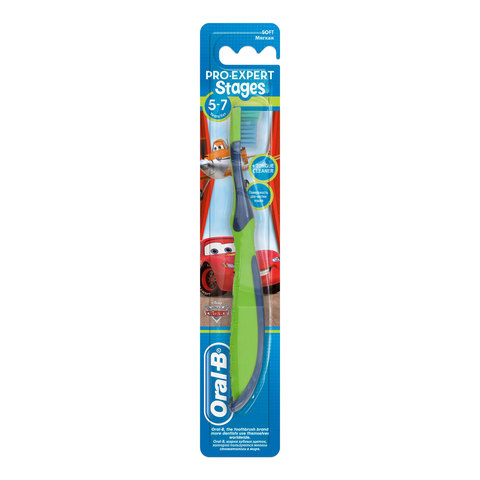 Oral-B-Stages-3-(5---7-years)-Manual-Kids-Toothbrush