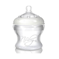 Nuby Soft Silicone Feeding Bottle