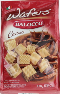 Balocco Wafers Cacao 250g