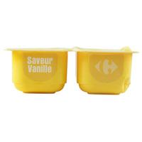 Carrefour Vanilla Flavoured Cream Dessert 125g x 4