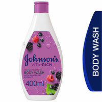 Johnson's Body Wash Vita-Rich Replenishing with Raspberry Extract 400ml