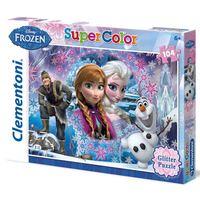 Clementoni Frozen: Queen of the North Mountain - 104 pcs - Supercolor Puzzl