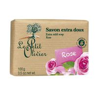 Le Petit Olivier Soap Rose 100GR