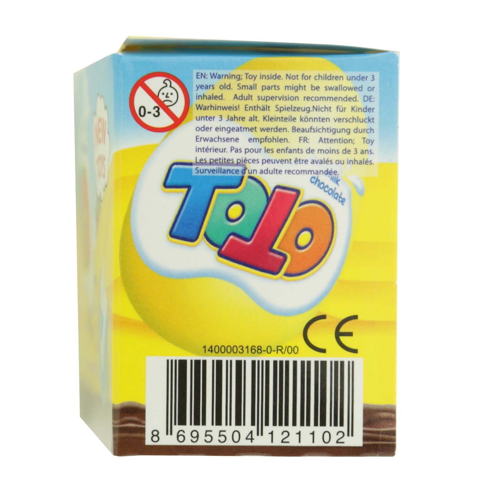 NESTLE EGG TOTO CHOCOLAT W/TOY 20GR