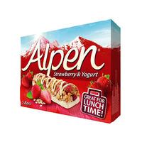 Alpen Cereal Bar Strawberry & Yogurt 28GR X 5