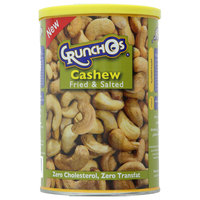 Crunchos Cashew Fried & Salted Can 350g