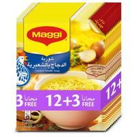 Maggi Chicken Noodles Soup 60gx15