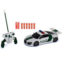 Majorette Dxb Police Highway Audi R8 1:16
