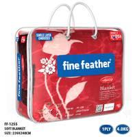 Fine Feather Korean Blanket Double 1Ply 3.7Kg
