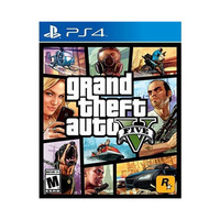 PS4 Grand Theft Auto Five GTA V