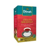 Dilmah English Breakfast Instant Tea 2GR X25 Sheets