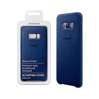 Samsung Galaxy S8+ Alcantra Blue Cover