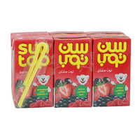 Sun Top Berry Mix Fruit Drink 125ml x6