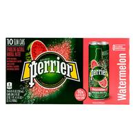 Perrier Sparkling Natural Mineral Water Watermelon 250mlx10