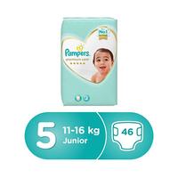 Pampers Diapers Premium Size 5 Mega Box 46 Pieces
