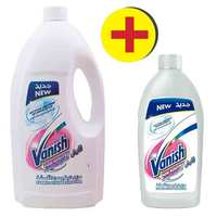 Vanish Liquid Stain Remover White 1.8 Liter + Vanish Liquid Stain Remover 500 Ml