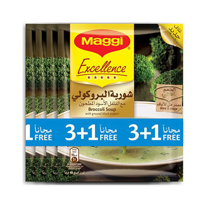 MAGGI SP EXCL BROC MP 48GX3+1