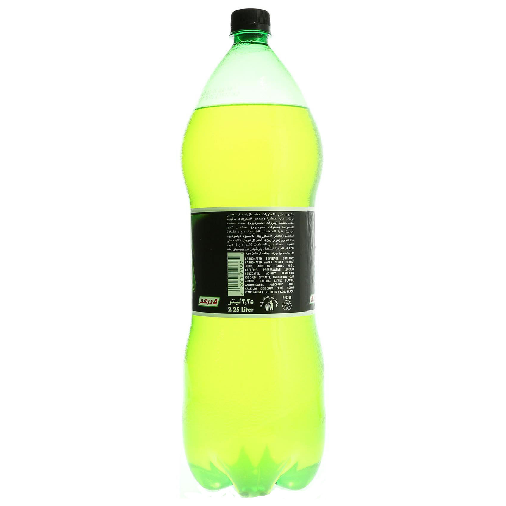 MOUNTAIN DEW PET 2.25L