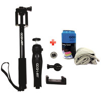 Go Smart Tripod 3 In1 + Cooling Towel