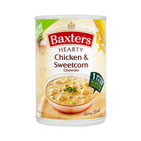 Baxters Hearty Chicken & Sweet Corn Chowder Soup 400GR