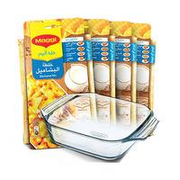 Maggi Bechamel Mix With casserole Dish 80GR X4 + Pyrex Free