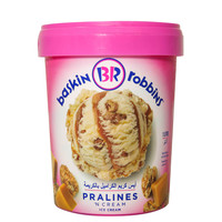 Baskin Robins Pralines 'N' Cream Ice Cream 1L