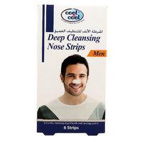 Cool & Cool Deep Cleansing Men Nose Strips 6 Strips