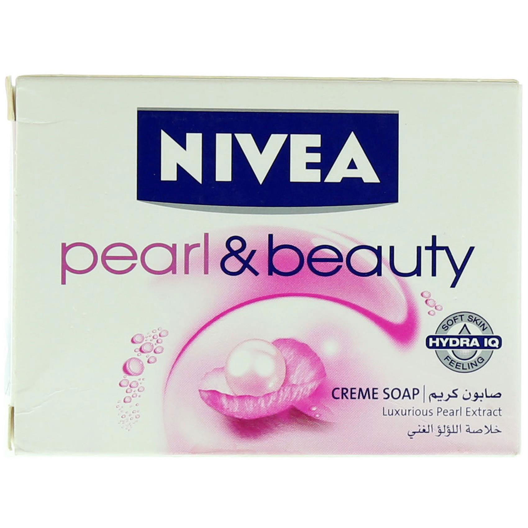 NIVEA CREAM SOAP PEARL100G
