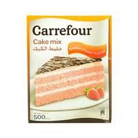 Carrefour Cake Mix Strawberry 500g