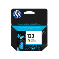 Hp Cartridge 123 Tri-Color F6V17AE