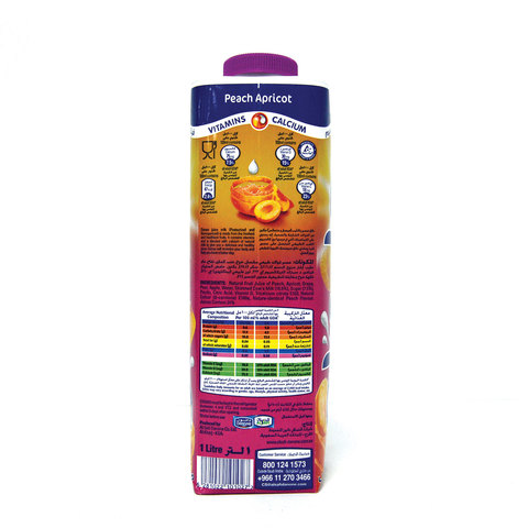 Danao-Peach-&-Apricot-Juice-Milk-1L